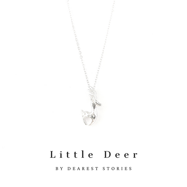D069 - 925 SILVER - Little Deer