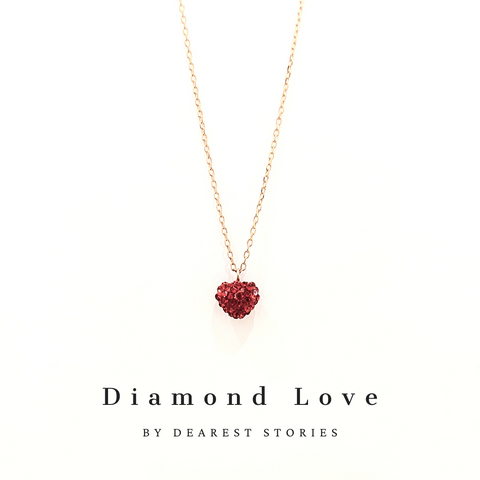 D086 - 925 SILVER - Diamond Love