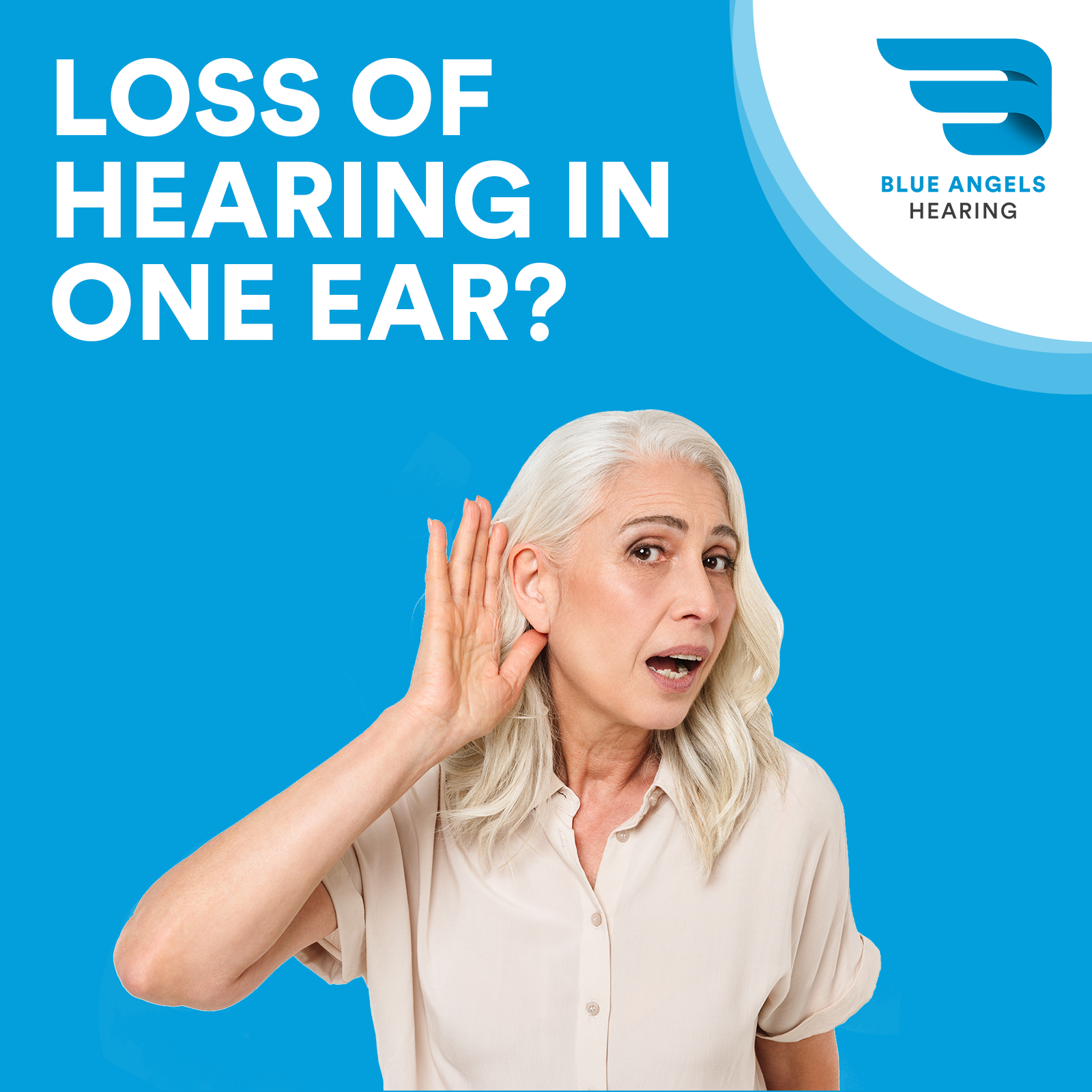 Loss of Hearing in One Ear? What You Should Do