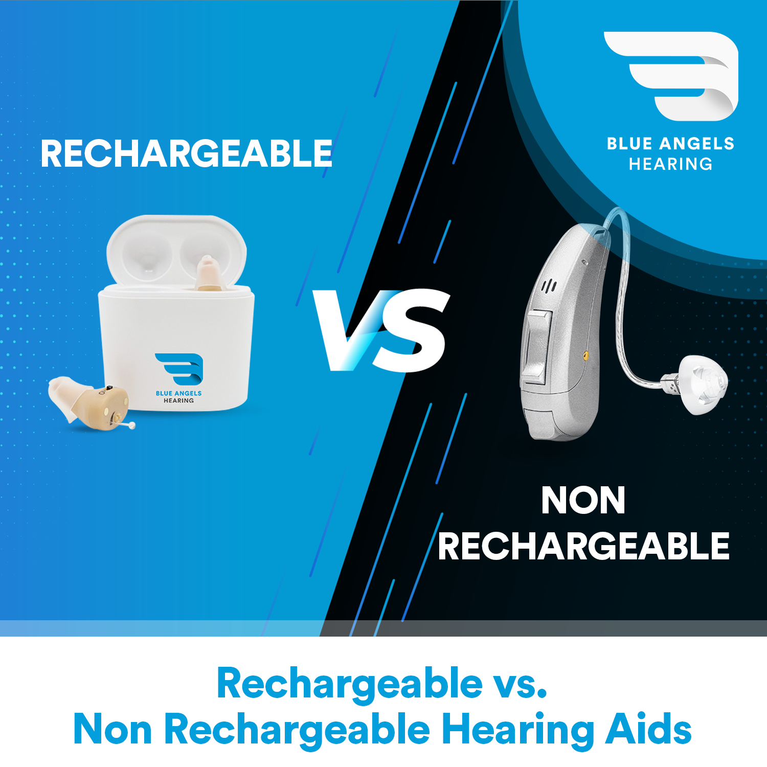 Rechargeable vs. Non-Rechargeable Hearing Aids - What's Better?