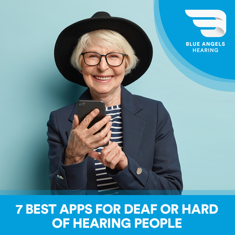 iOs and Android apps for hard of hearing or deaf people. Here's the best of them!