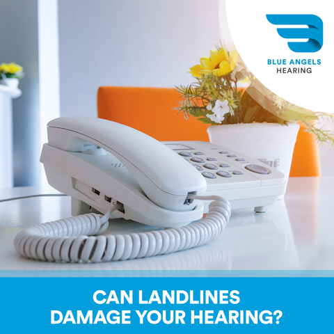 Can landlines damage your hearing? We look at whether cell phones or landlines cause greater damage to your hearing