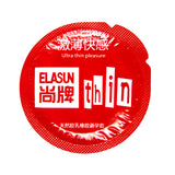 ELASUN 36Pcs Natural Latex Double Lubricated Condoms Super Ultra Thin Condom For Man, Adult Sex Safer Contraception For Couples