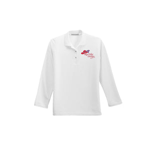 Red Hat Society Long Sleeve Polo - Ladies