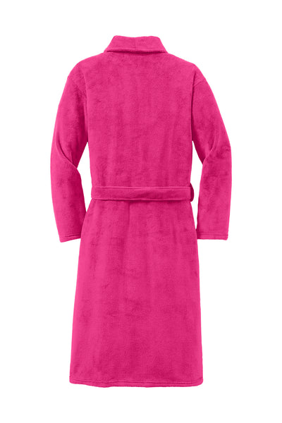 Monogrammed Plush Microfleece Shawl Collar Robe