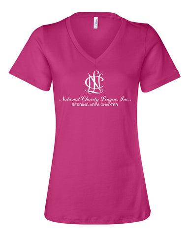Redding Area Chapter NCL Chapter V-Neck T-Shirt