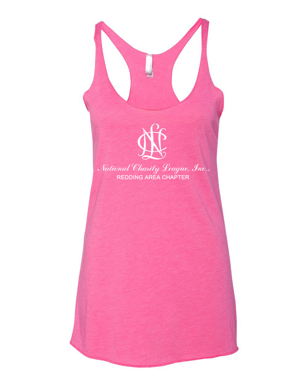 Redding Area Chapter NCL Chapter Triblend Racerback Tank Top