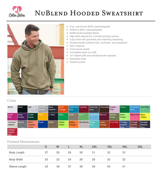 NCL Nublend Hooded Sweatshirt