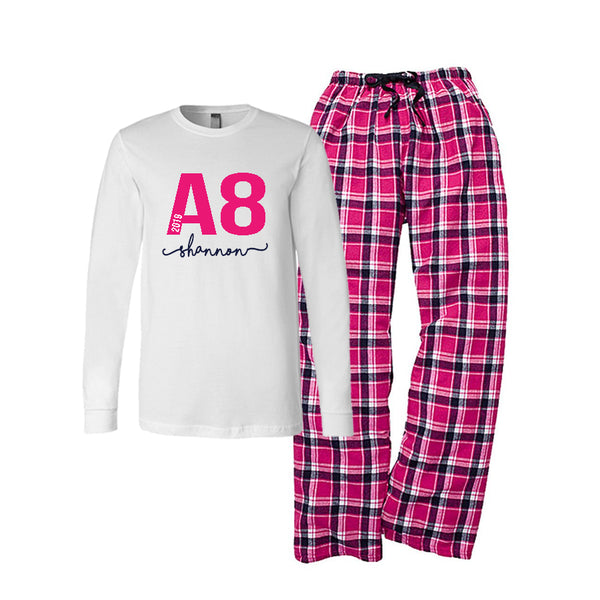 Personalized Custom Logo Pajamas