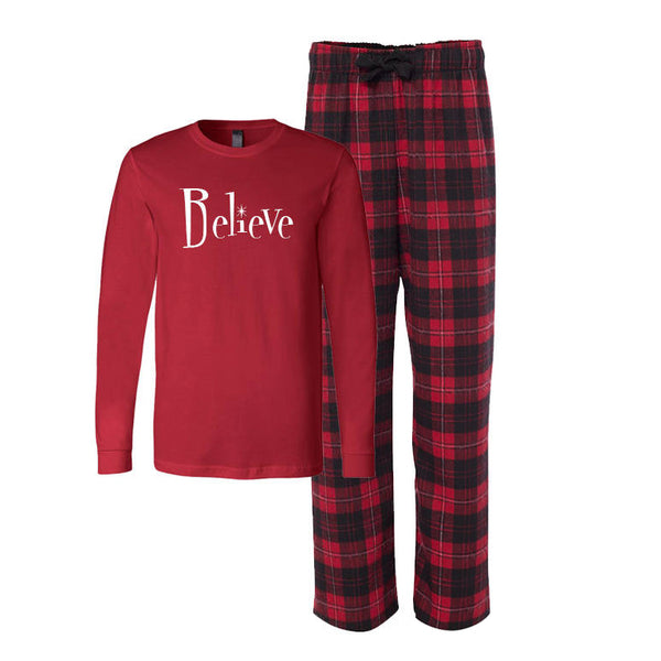Believe Pajama Set