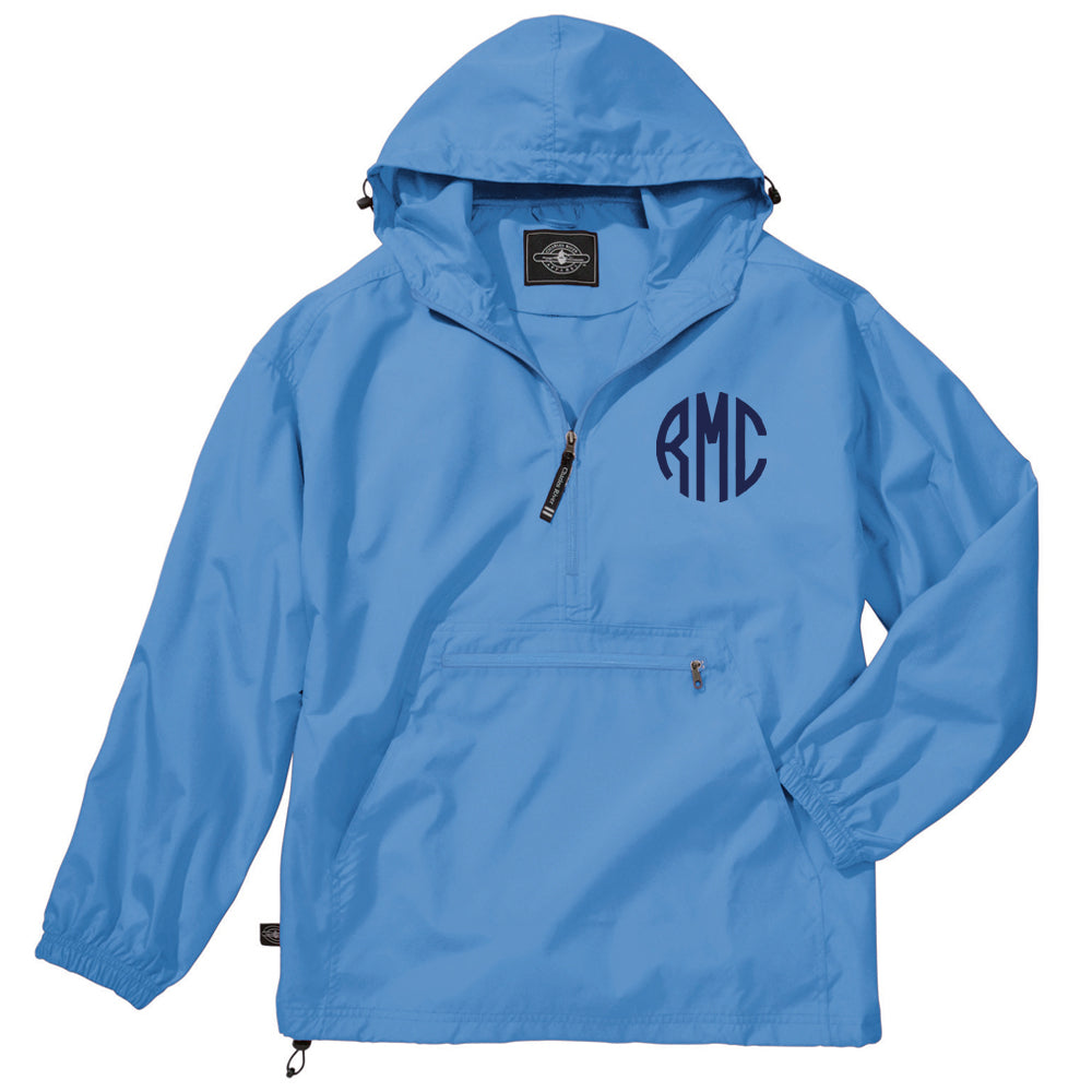 Monogrammed Unlined Windbreaker