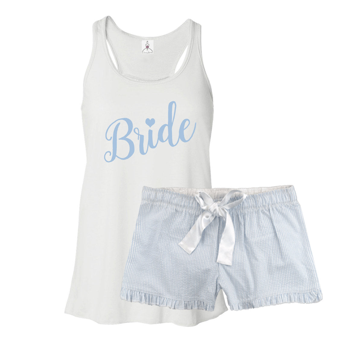 Bride Pajama Set - Something Blue