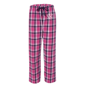 NCL Flannel Pants, National Charity League Pajamas, NCL Pajamas