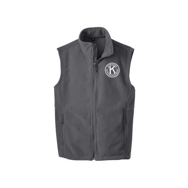 Kiwanis International Men's Fleece Vest - Seal Logo