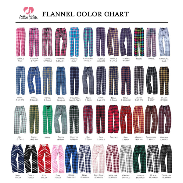 Nurse Flannel Pants