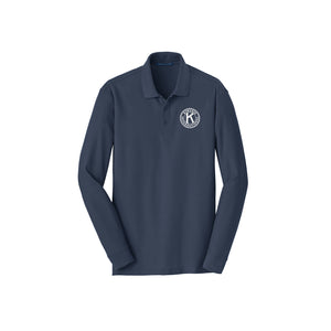 Kiwanis Long Sleeve Classic Polo - Mens