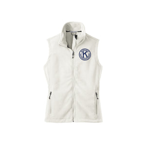 Kiwanis Fleece Vest - Women