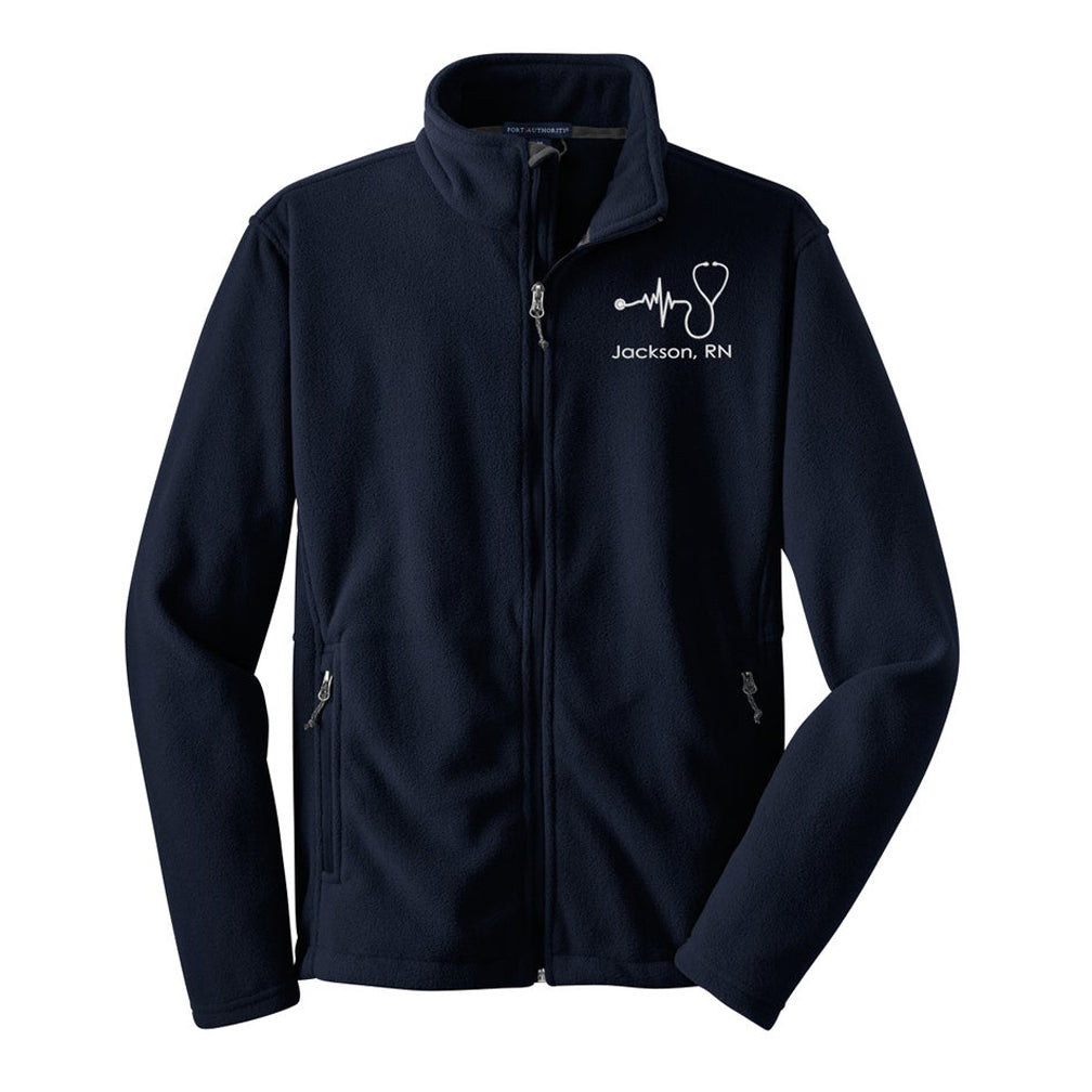 Male Nurse Fleece Jacket - UNISEX