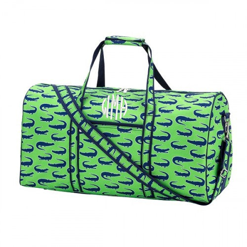 Monogrammed Boys Travel Duffel Bag