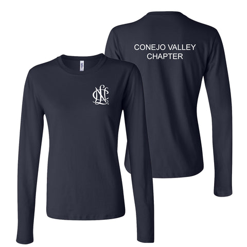 NCL Conejo Valley Chapter Women's Long Sleeve T-Shirt