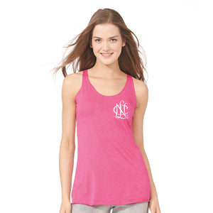 NCL Chapter Triblend Racerback Tank Top