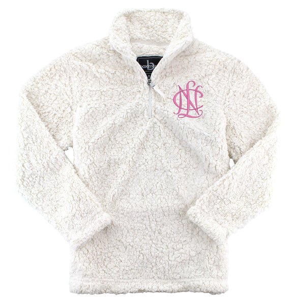 National Charity League Sherpa Quarter Zip Pullover