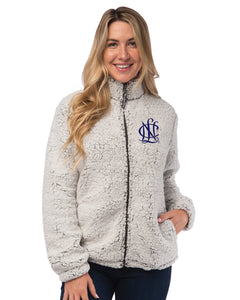 National Charity League Full Zip Sherpa Jacket