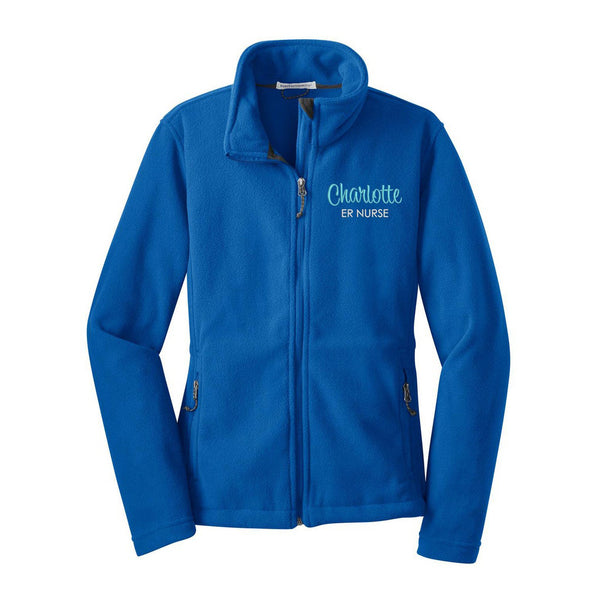 Nurse Fleece Jacket - LADIES