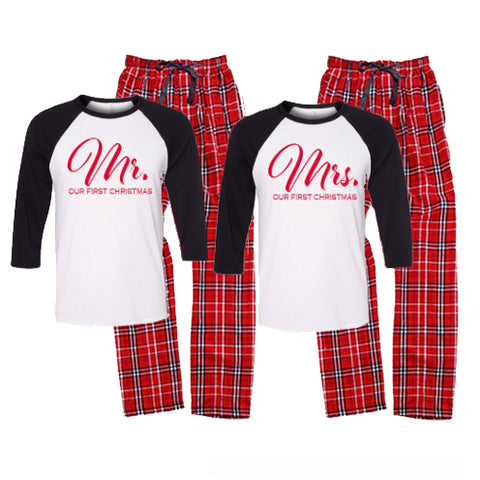 Our First Christmas Pajama Set