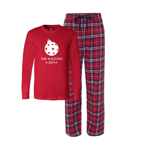 Personalized Christmas 2019 Ornament Pajamas