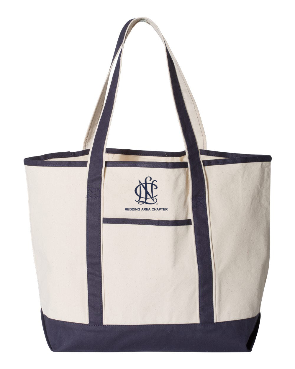 Redding Area Chapter NCL Large Canvas Deluxe Tote