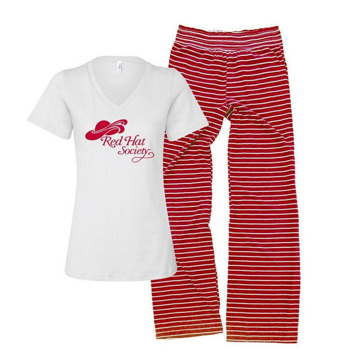 Red Hat Society Pajama Set