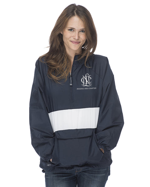 Redding Area Chapter NCL Striped Windbreaker