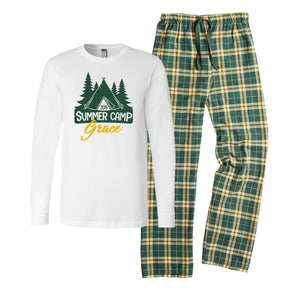 Personalized Summer Camp Pajamas - Sleepaway Camp