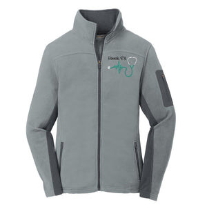 Nurse Summit Fleece Full Zip Jacket - LADIES