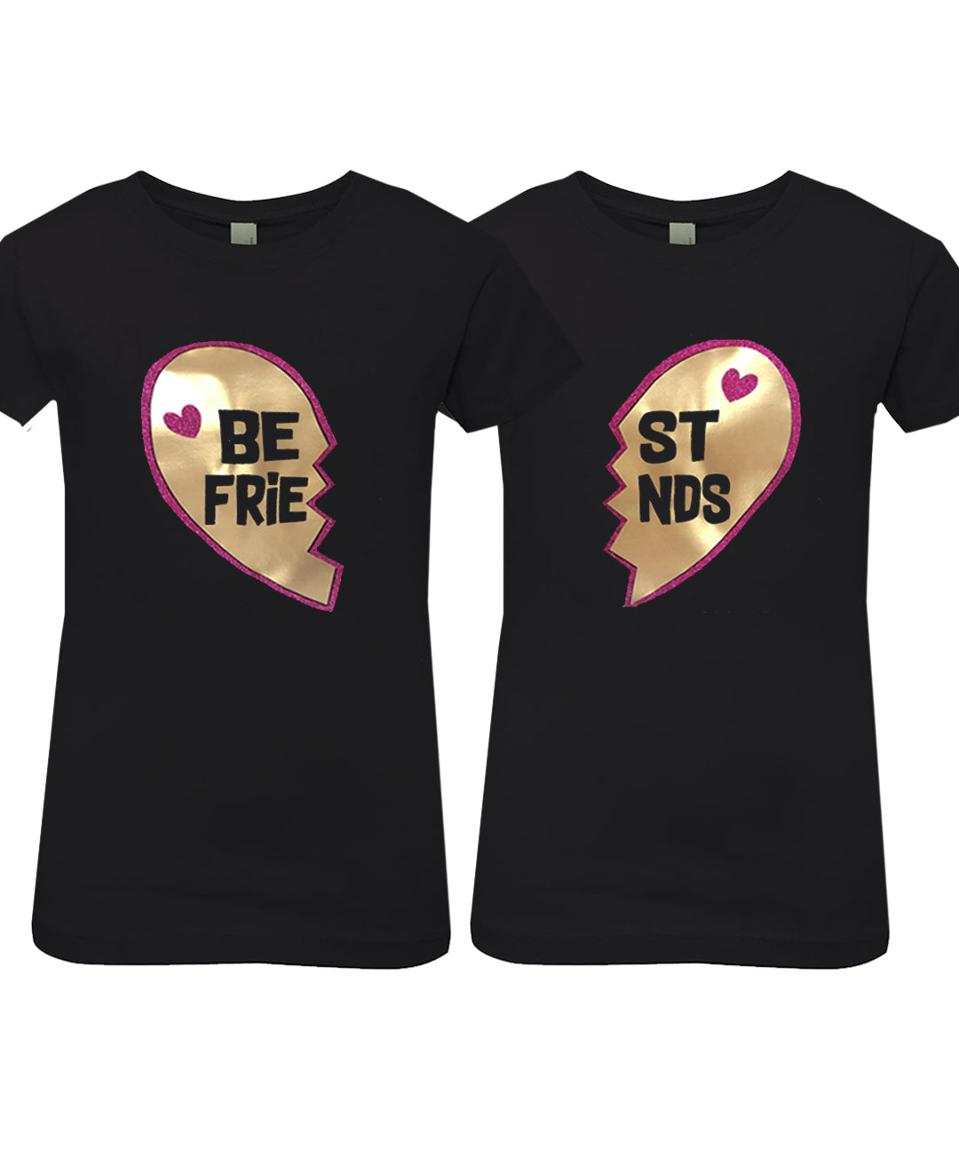 BEST FRIENDS Princess T-Shirt Set