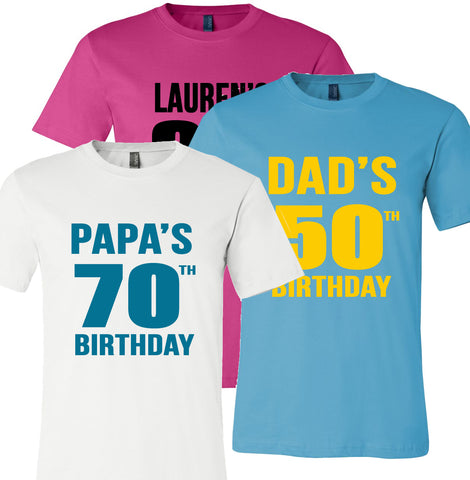 Milestone Birthday T-Shirts