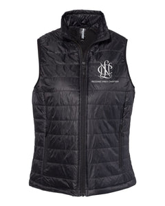 Redding Area Chapter NCL Puffy Vest