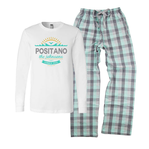 Personalized Family Vacation Pajamas - Ocean Adventure