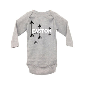 Personalized Baby Onesie - Flying Arrow