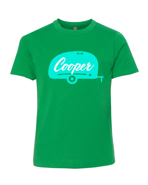 Personalized Happy Camper T-Shirt