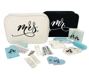 Mr. and Mrs. Honeymooners Travel Bag Gift Set