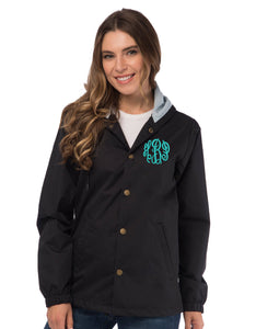 Monogrammed Coaches Jacket