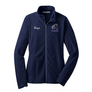 Horse Lightweight Fleece Jacket - LADIES