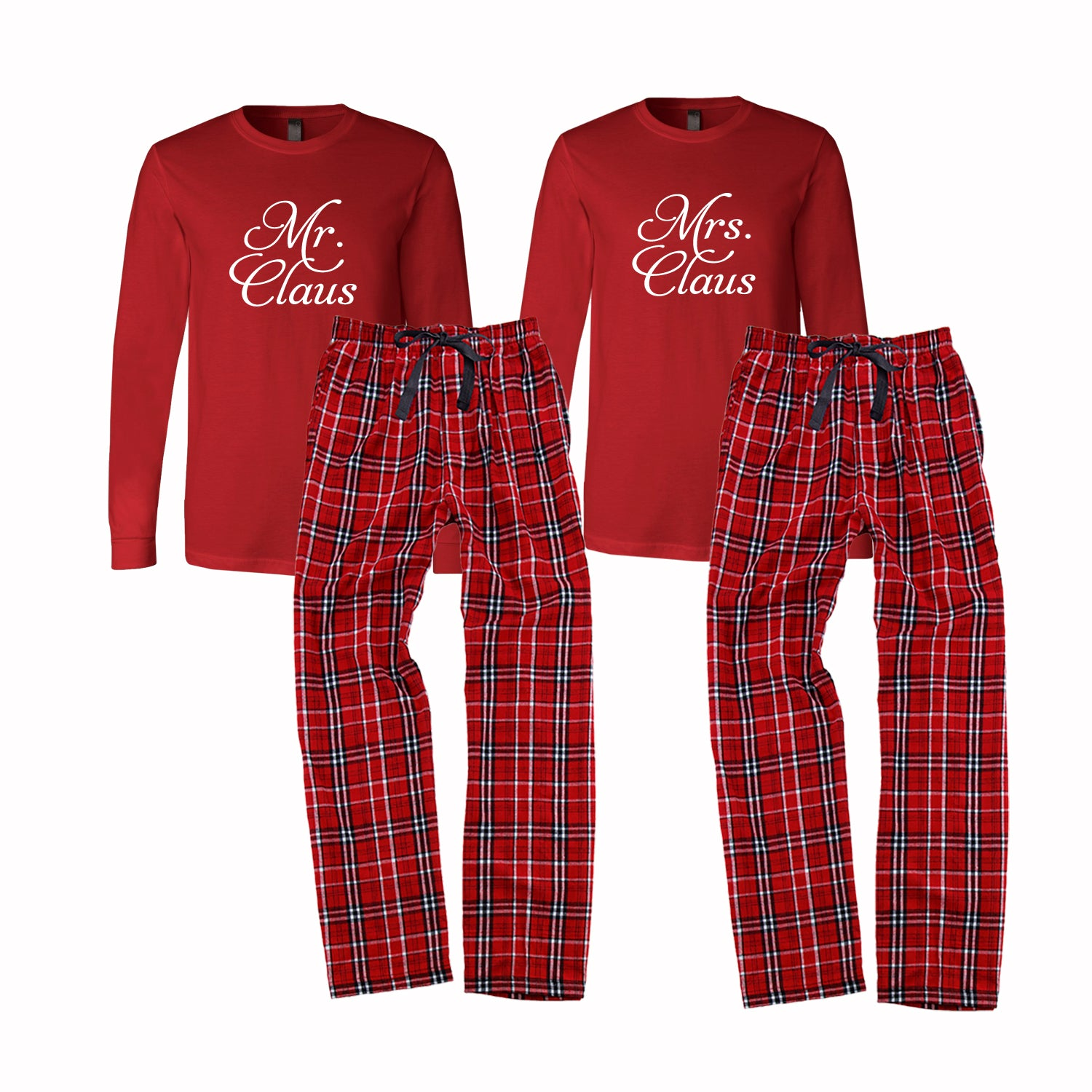Mr. and Mrs. Claus Pajama Set