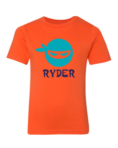 Personalized Super Ninja T-Shirt