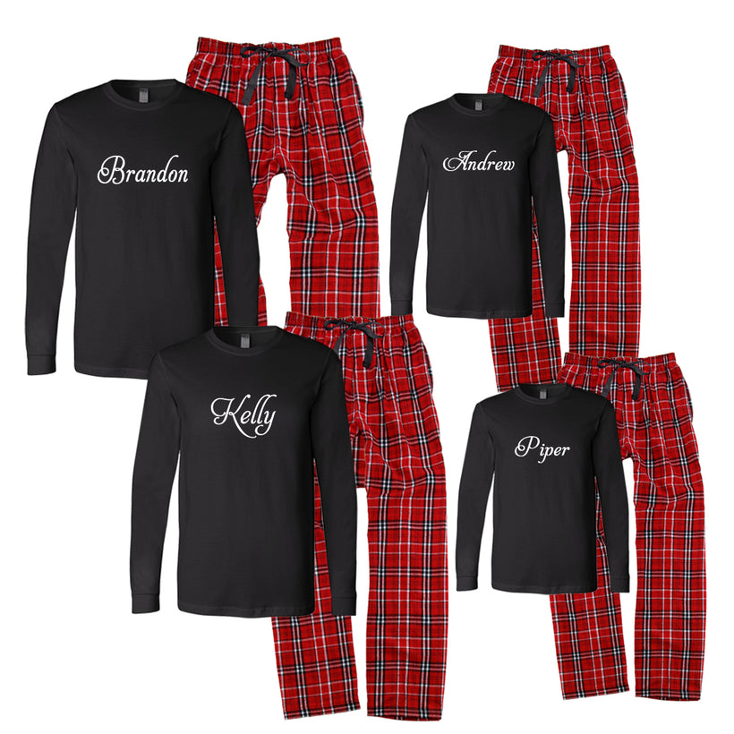 Matching Family Pajama Sets