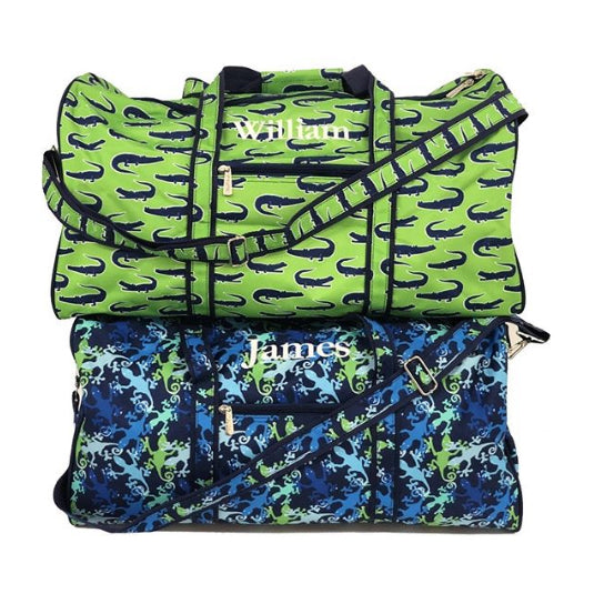 Personalized Boys Travel Duffel Bag