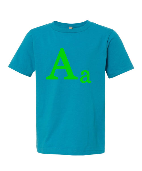 Personalized Initial Boys T-Shirt