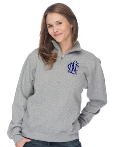 National Charity League Quarter Zip Pullover